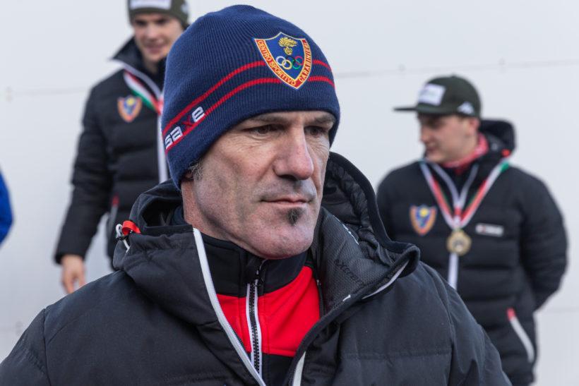 Campioni sport invernali, la FISI premia Armin Zoeggeler con il trofeo dei 100 Anni